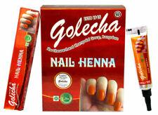 Golecha Nail Henna Long Lasting No Harmful Chemicals - Orange - 1 Box
