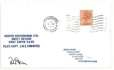 AZ359 1985 GB VOSPER ha HOVERCRAFT Ltd Southampton Copertura {samwells} PTS