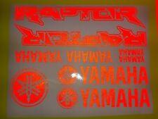 Yamaha Raptor 700 600 600 Set Sticker Aufkleber  Reflexion reflection ROT