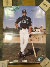 Alex Rodriguez Appleton Foxes Baseball Poster  Hs