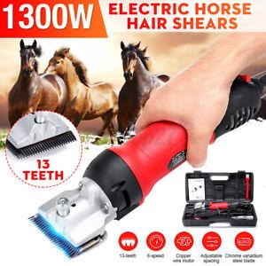 US 1300W Electric Animal Hair Clipper Shearing  Horse Dog Sheep  US