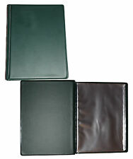 A5 40 Page Hard Back Deluxe Waterproof Nirex Nyrex Document Folder Army Orders