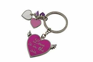 """%SALE% GIFT COMPANY ♥ Schlüsselanhänger """"Love is in the Air""""  ♥ pink ♥ NEU"""