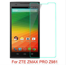 9H Premium Tempered Glass Screen Protector Film For ZTE ZMAX PRO Z981