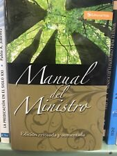 Manual Del Ministro by Zondervan Staff (1995, Hardcover, Revised) tapa dura