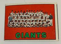 1967 San Francisco Giants Team # 516 Topps Baseball Card