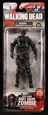 "2013 MCFARLANE TOYS: WALKING DEAD SER. 4 GAS MASK RIOT GEAR ZOMBIE 5"" FIGURE MOC"