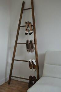 Handmade Primitive Wood Ladder