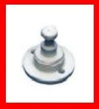 10 x MINAX Unterteil schwarz Persenningknopf