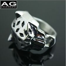 Leopard animal ring size 10