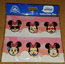 Disney Pins Emoji - Minnie 2017 Sealed Booster Pack