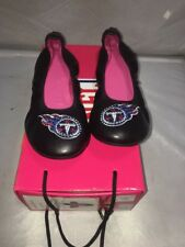 The Junkie flat ballet Tennessee Titans size 9 Women Shoes