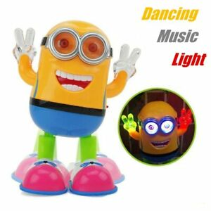 Toys Despicable ME3 Minion Robot Dancing Kids Educational Toys for Children play