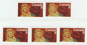 Canada #561(1) 1972 8 cent COUNT FRONTENAC - GOVERNOR OF NEW FRANCE 5 MNH