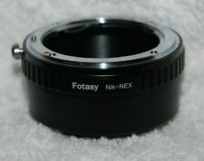 NIKON MOUNT FOTASY adapter Nik-Nex for mounting Nikon lenses to SONY cameras