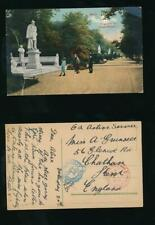 More details for gb 1920 official paid 9 london sw + admiralty anchor oas ppc germany to chatham