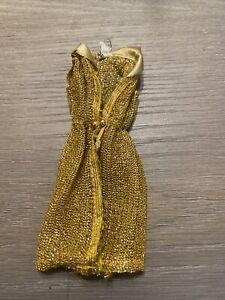 Vintage Barbie Outfit TALKING BARBIE #1115, GOLD MESH COVER UP Original