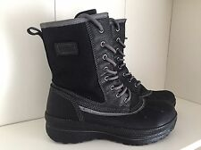 ECCO GORE-TEX  Black Boots - Size  4/37 - Perfect condtion - RRP £100
