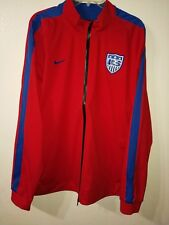 NIKE USA SOCCER N98 FULL ZIP TRACK JACKET FIFA WORLD CUP 2014 RED 624758 2XL