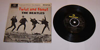 "The Beatles Twist And Shout 7"" Single EP Mono - VVG"