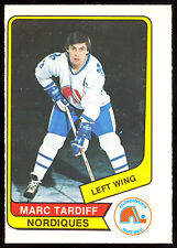 1976 77 OPC O PEE CHEE WHA #118 MARC TARDIFF NM QUEBEC NORDIQUES HOCKEY CARD