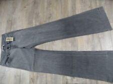 J Brand Jeans geniales Monroe mid Rise, Wide leg gris talla 24 nuevo kos1217
