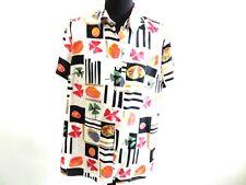 "90's Vintage Women Blouses Tops Shirt Multi 44 42"" Chest Grade A AR180"