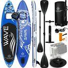 KESSER® SUP Board Set Stand Up Paddle aufblasbar Sichtfenster Surfboard Paddling - Best Reviews Guide