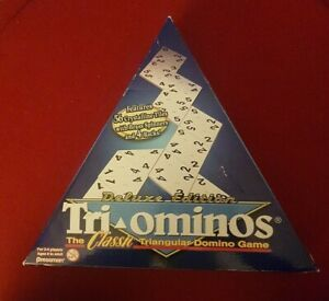 Tri-Ominos - Deluxe Edition - 3 Sided Dominoes - Pressman