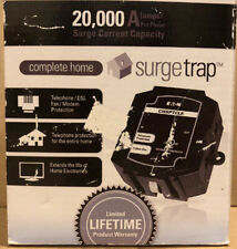 New Eaton Holmes Surge Trap 20,000 amp Telephone DSL Fax Modem Protection