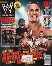 WWE Magazine November 2012 John Cena, Randy Orton  w/ML w/Poster EX 121115DBE