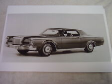 1970 LINCOLN MARK III  11 X 17  PHOTO /  PICTURE