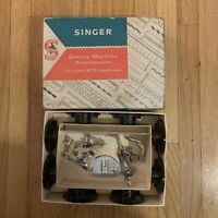 Vintage Singer Sewing Machine Attachments 403 Original Box