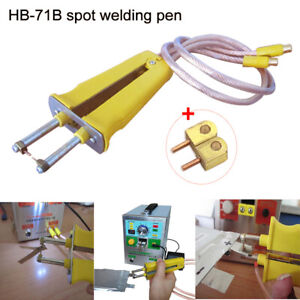 UNKKO HB-71B Yellow Spot Welding Pen 1860 Battery O Type For 709A AD 719D Series