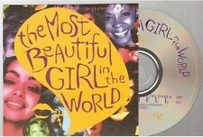 PRINCE the most beautiful girl in the world CD SINGLE french card sleeve france