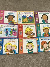 Brighter Vision Learning Adventures Lot Of 9 Preschool K  Workbooks Like New