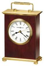 BRAND NEW HOWARD MILLER ROSEWOOD BRACKET DESK CLOCK QUARTZ 613-528