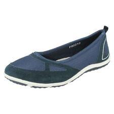Zapatos planos de mujer mocasines color principal negro talla 36