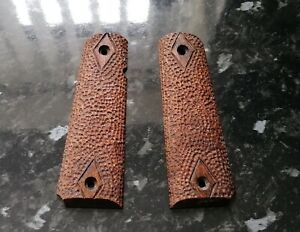 CUSTOM  SAPELE WOOD GRIPS TO FIT THE UMAREX COLT SPECIAL COMBAT 1911