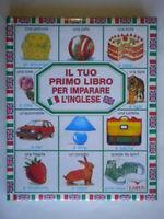 Il tuo primo libro per imparare l'ingleselarus bambini scuola illustrato 54