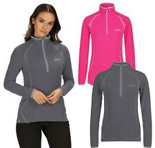 Regatta Womens Unwin Fleece Jacket Ladies Fitness Jumper Sweater Pullover Gym