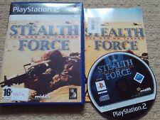Stealth Force: Guerre sur Terreur - Rare Sony PS2 Jeu
