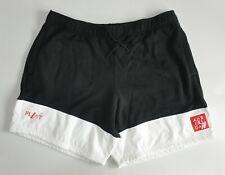 Nike Air Jordan Legacy AJ4 Men's Black White Hybrid Gym Shorts 3XL 7 inch inseam
