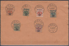 Albania envelope with a complete series 1920 USED
