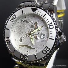 Invicta Disney Mickey Grand Diver Silver Tone 47mm Automatic Watch New
