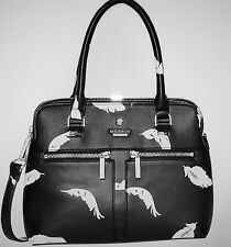 MODALU PIPPA SMALL GRAB BAG IN BLACK AND WHITE PRINT + STRAP  - NEW WITH TAGS