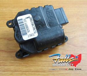07-12 Dodge Nitro Jeep Liberty HVAC System Heater Actuator Mopar OEM 68004016AA