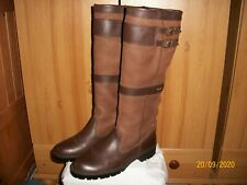 "Dubarry ""Longford"" Gore-Tex® Boots – Sz 6.5 (40) (Brown) Stylish Country Boot"