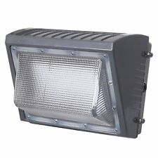 Honeywell LED Rectangular Security Light, WallLight 6000 Lumen Titanium Gray