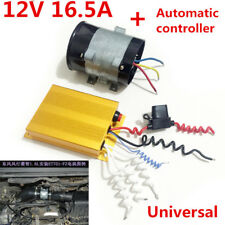 12V 16.5A Car SUV Electric Turbine Power Turbocharger Lines+Automatic Controller